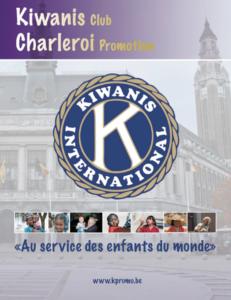 Logo du Kiwanis Club Charleroi Promotion